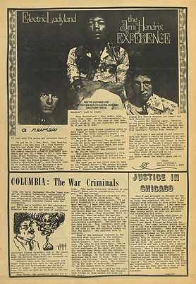 jimi hendix newspapers 1968/the kudzu october 23, 1968: electric ladyland
