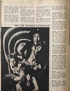 jimi hendrix magazines 1970 / pop directory1970 jimi hendrix