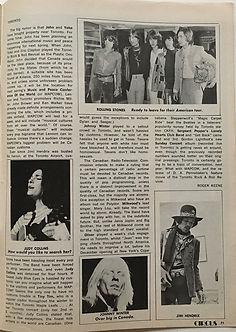 jimi hendrix magazines 1969/circus december 1969