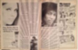 jimi hendrix magazine/rave  6/67