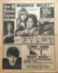 jimi hendrix newspaper/july 27 1968/majorca and jimi