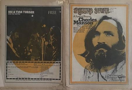 jimi hendrix newspapers 1970 / rolling stone  june 25, 1970