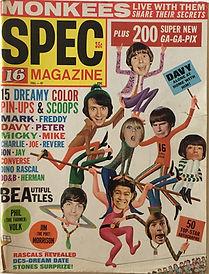 jimi hendrix collector magazine/spec 16 magazine fall 1967 jimi hendrix experience article