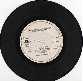 jimi hendrix vinyls ep/side 1/la balada de jimi