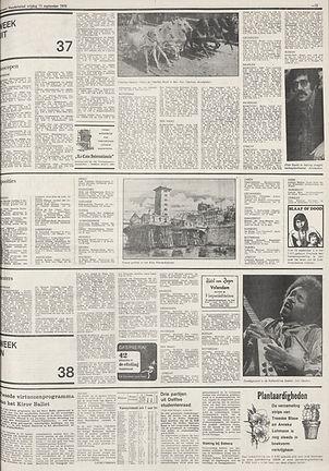 jimi hendrix newspapers 1970 / algemeen handelsblad sept.11, 1970