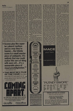 jimi hendrix newspapers 1969/the east village other dec. 31, 1969