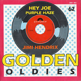 jim hendrix singles vinyls /hey joe /purple haze belgium 1977
