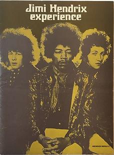 jimi hendrix memorabilia 1968/press kit 1968