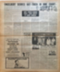 jimi hendrix newspaper/new musical express july 6 1968