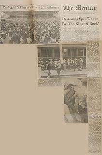 jimi hendrix newspaper 1969/ the mercury may 26, 1969