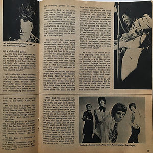 jimi hendrix magazine 1968/datebook november 1968