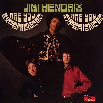 jimi hendrix rotily vinyls lp /are you experienced 1967 israel