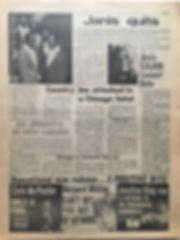 jimi hendrix newspaper/go september 6 1968