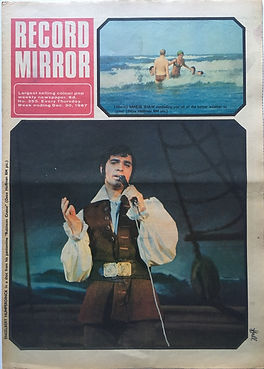 jimi hendrx collector newspapers/record mirror 30/12/67