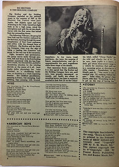 jimi hendrix magazine 1969/best songs april 1969/fire