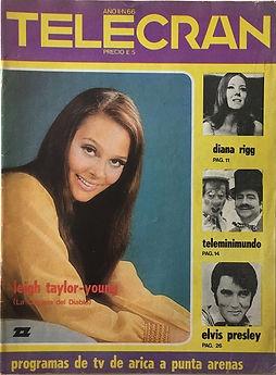 jimi hendrix collector magazines 1970/ telecran  december 1970