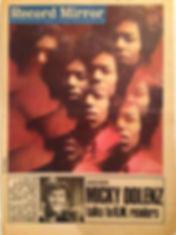 jimi hendix newspaper/record mirror  11/2/67