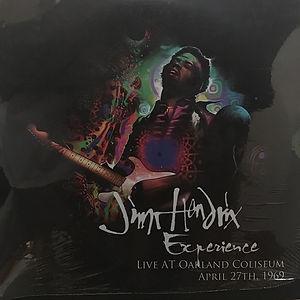 jimi hendrixbootleg vinyl album/live at oakland coliseum 2lp