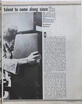 jimi hendrix magazine /hullabaloo september 1968