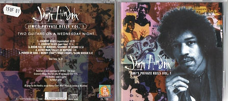 jimi hendrix bootlegs cds 1970 / jimi's private reels vol.1