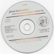 jimi hendrix bootlegs cd / live in copenhagen 1968/70  disc 2