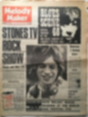 jimi hendrix newspaper 1968/ melody maker november 16/1968