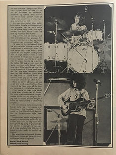 jimi  hendrix magazines 1969 / popnytt feb. 1969