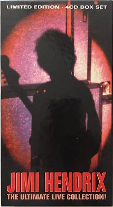 jimi hendrix cd bootleg album box 4 cd set/the ultimante live collection