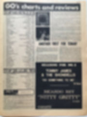 jimi hendrix newspaper 1968/go october 11 1968