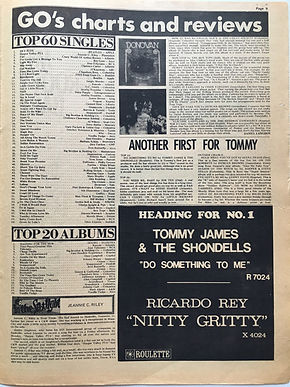 jimi hendrix newspaper 1968/go october 11 1968