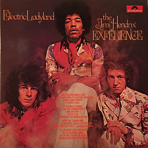 jimi hendrix rotily vinyls collector/electric ladyland 1975 italy