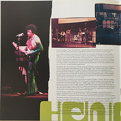 jimi hendrix vinyls/booklet band of gypsys 1997 family edition