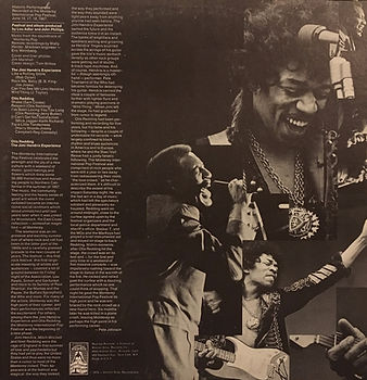jimi hendrix collector vinyls/otis redding-jimi hendrix experience historic performances  fan club  usa reprise records 1970