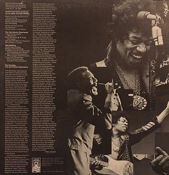 jimi hendrix collector vinyls/otis redding-jimi hendrix experience historic performances  fan club  usa reprise records 1970
