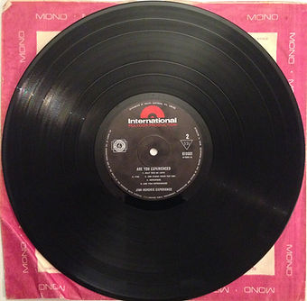 jimi hendrix collector vinyls lp /are you experienced 1967 australia