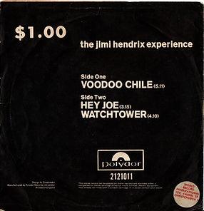 jimi hendrix collector maxi single/vinyls/voodoo chile/hey joe/watchtower 1970 NZ