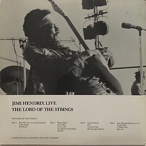 jimi hendrix vinyl albums bootlegs/the lord of the sringes jimi hendrix