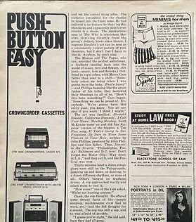 jimi hendrix magazine/esquire 1968 january  part/the end