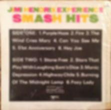 jimi hendrix rotily vinyls smash hits