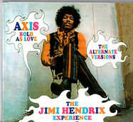jimi hendrix collector bootlegs cd/axis bold as love/the alternate versions