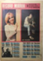 jimi hendrix newspaper 1968 / record mirror november 16 1968