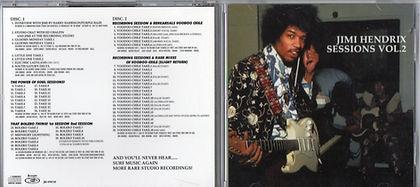 jimi hendrix bootlegs cd/jimi hendrix sessions vol 2