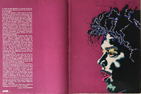 jimi hendrix magazines 1970 death/  extra : december 1970