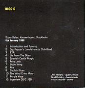 jimi hendrix cds box/disc 6 / concert 8/1/68