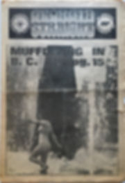 jimi hendrix newspaper 1969 /georgia straight june 11-17 1969
