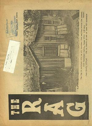 jimi hendrix newspaper 1970 /the rag  june 22, 1970