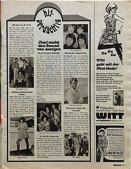 bravo 4/3/68 jimi hendrix magazine collector