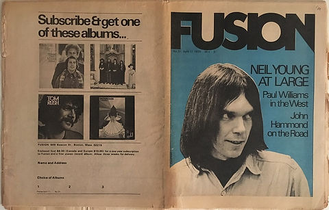jimi hendrix newspapers 1970 / fusion april 17,1970