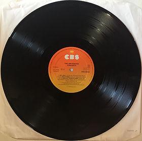 jimi hendrix vinyls album / the jimi hendrix concerts / side 4 / cbs  holland