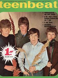 jimi hendrix collector magazine/ teenbeat  4/1967